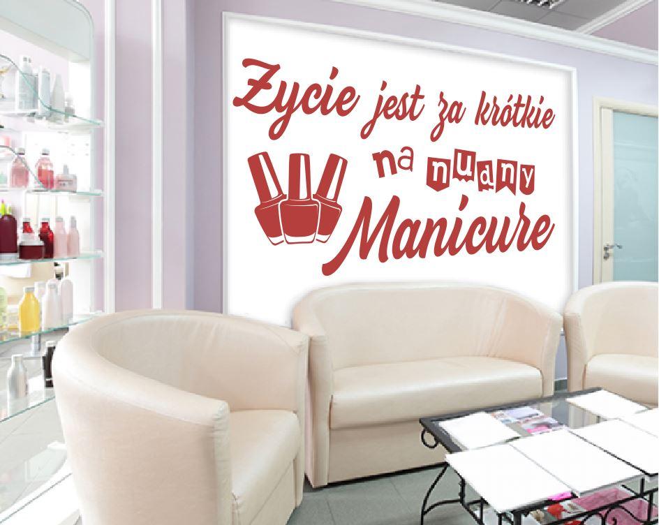 naklejka manicure