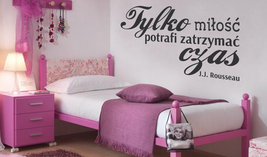 Romantyczny Nastrój W Sypialni Naklejki Na