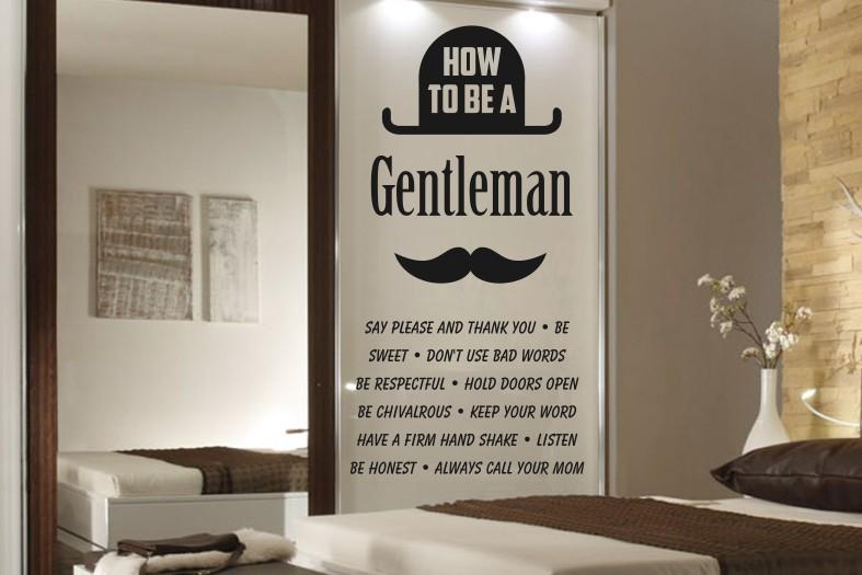 naklejka dla mężczyzny