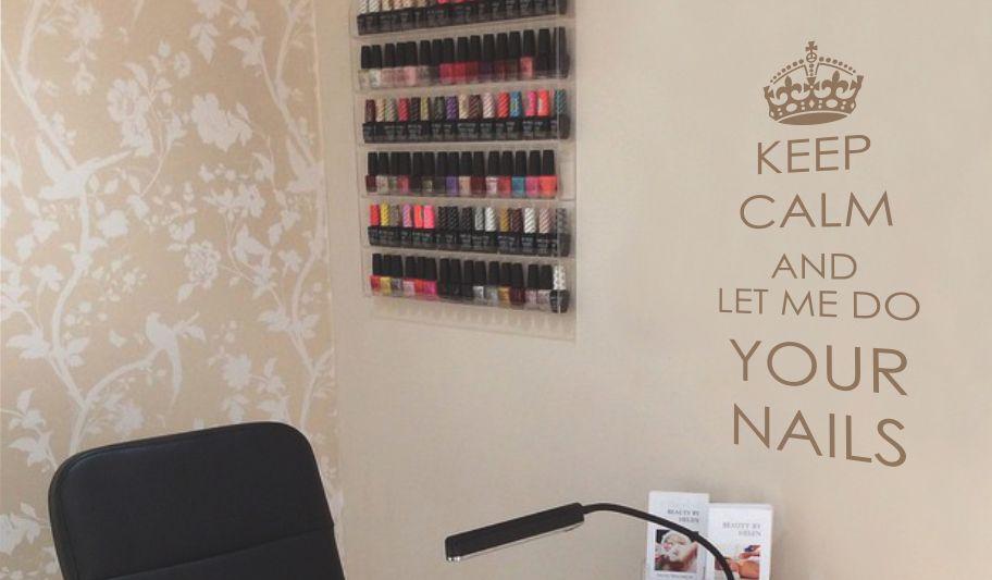 napis do salonu kosmetycznego