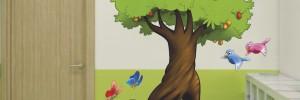 naklejka bajkowe drzewo