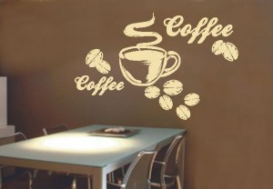 naklejka do kuchni filizanka kawa