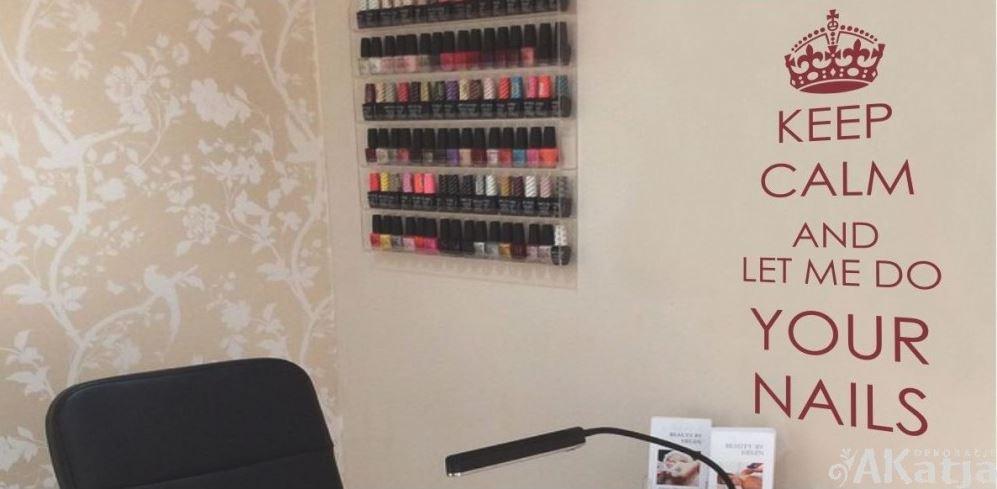 naklejka salon kosmetyczny