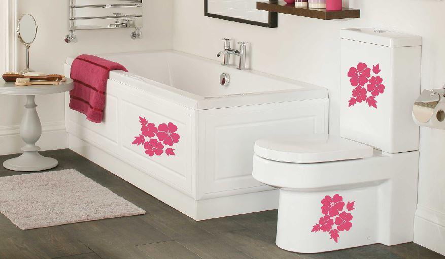 Egzotyczna łazienka Naklejki Na