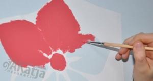 malowanie szablonem