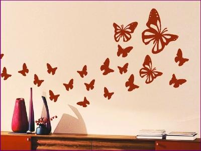 Szablony Motyle I Motylki Naklejki Na