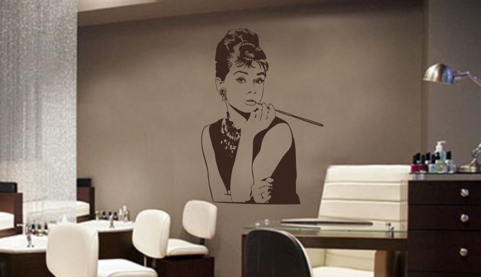 Audrey do zakładu kosmetycznego