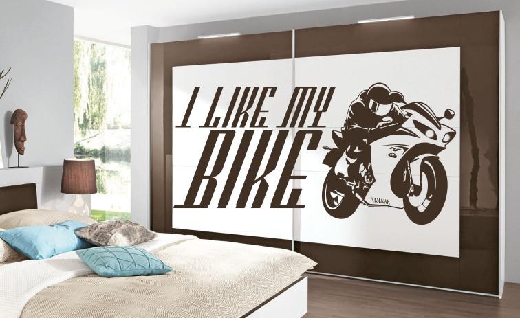 motocykl na ścianę