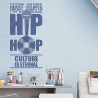 naklejka muzyczna hip hop