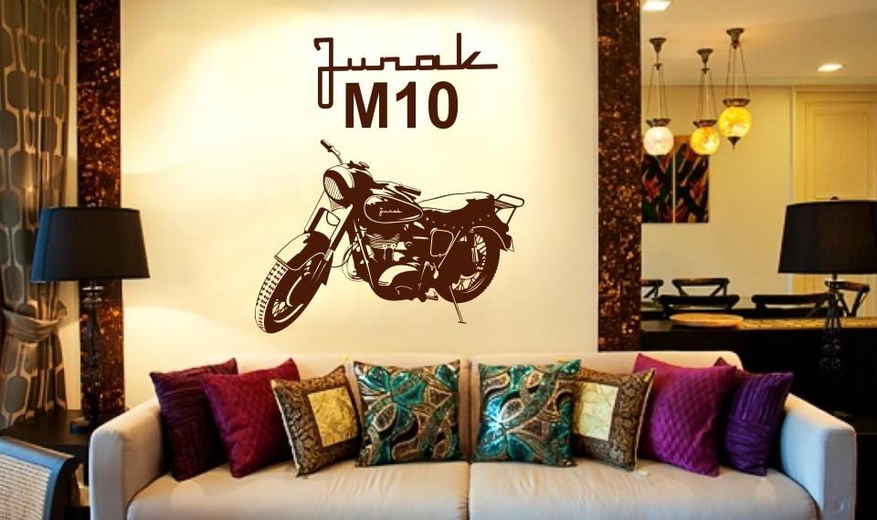 motocykl w stylu retro