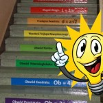 naklejki edukacyjne na schody