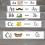 naklejki z alfabetem na schody