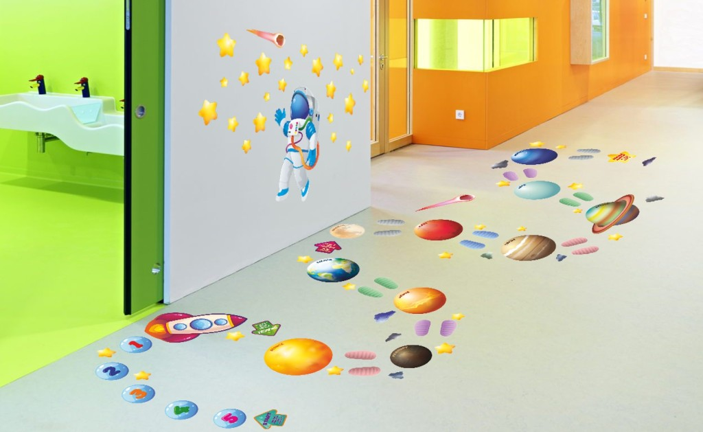 ścieżka sensoryczna planety