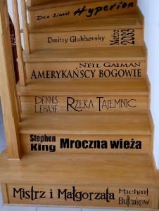 napisy na schody