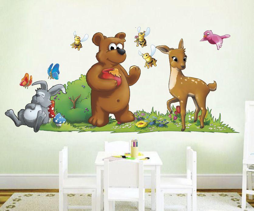 bajkowe dekoracje ścian bez komercji